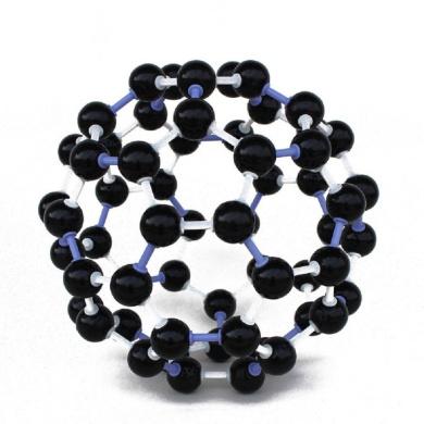Scientific 23mm Chemistry Teaching Crystal Carbon 60 C60 Atom Molecular Model Kit Set