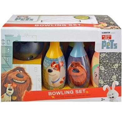 Secret Life of Pets Bowling Set in Display Box