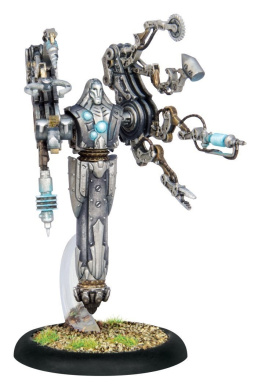Warmachine - Convergence of Cyriss: Forge Master Syntherion