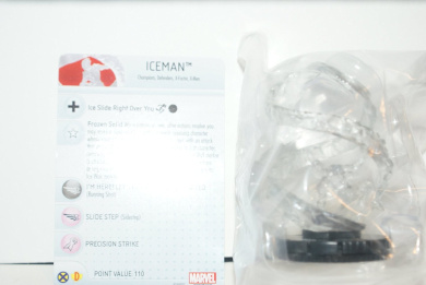 Iceman #051 Heroclix Marvel Uncanny X-men Super Rare Figure w/card