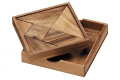 Portable Tangram Puzzle Wooden Game