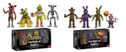 Funko Five Nights at Freddy's 4 Collectible Figure Pack 5.1cm Set #1 and Set #2