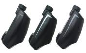 AtmosFlare 3D Pen Cartridge Refills (3 Pack), Black/White/Grey