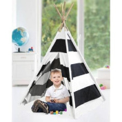 Rugby Stripe Play Tent TeePee for Kids Indoor by American Kids