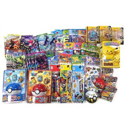 Pokemon 10 of Assorted School SupplystationerySet (+2 FREE Gifts) Total 12 Items