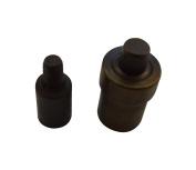 Amanaote 4.5 mm Grommet Die Setter Eyelet Mould for Hand Press Grommet Puncher Tool