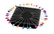 Zirkel Magnetic Pin Cushion - 100 Splendid Spear Pins Included - Patty Young - Organise Pins - Paper Weight