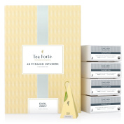 Tea Forte BULK PACK Earl Grey Black Tea, 48 Handcrafted Pyramid Tea Infusers