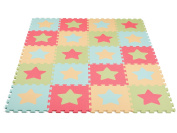 Baby's Best Products Star Series Extra-Thick, Non-Toxic Play Mat