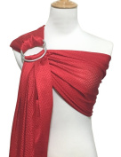 Vlokup Adjustable Baby Water Ring Sling Baby Carrier Infant Wrap with Aluminium Ring Best Baby Gift One Size Fit All Red