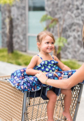 Busy Bambino Compact 2-in-1 Shopping Cart and High Chair Cover. FREE GIFT, SEE SPECIAL OFFER BELOW!