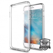 """Spigen iPhone 6S Plus (5.5"""") Ultra Hybrid Case-Crystal Clear, Elite Protection,Air Cushion"""