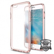 "Spigen iPhone 6S (4.7"") Ultra Hybrid Case-Rose Crystal,Elite Protection, Air Cushion Technology,"