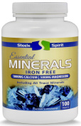 Multi Mineral + Cal Mag Supplement with Zinc. 1000mg Calcium + D3 & 500mg Magnesium. All 72 Trace Minerals. Iron Free. Supports Healthy Immune & Heart Health. Promotes Strong Bones. 2 Pills Per Day.