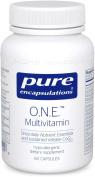Pure Encapsulations 60 Vcaps - O.N.E. Multivitamin with Metafolin L-5 MTHF