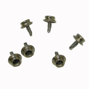 Boat Cover Snap 1.3cm Screw Stud With Self Drilling