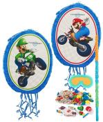 Birthday Express - Mario Kart Wii Mario and Luigi Pinata Kit