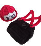 JT-Amigo Baby Photography Prop, Newborn Fireman Costume Outfits, Size Newborn