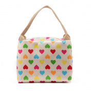 Kasstino Mummy Canvas Makeup Tote Bag Baby Lunch Warmer Bags Women Waterproof Nappy bag