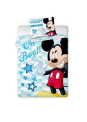 Disney Mickey Mouse Baby Reversible Bed Linen 100 x 135 cm 100% Cotton