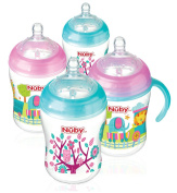 Nuby Natural Touch Decorated Bottles