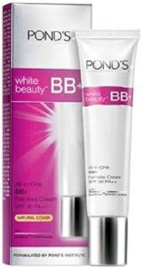 Pond's White Beauty Bb+ Fairness Cream SPF 30 PA++ protects from UVA, UVB 18g by Pond's