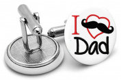 I love my daddy Cufflinks, Mens gifts,wedding,groom