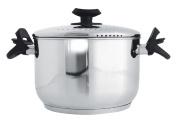 Galileo Casa 2173173 Pasta Pot Stainless steel , 4 mm, Bakelite handles