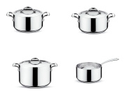 LAGOSTINA COOKWARE SET FIVE ACADEMY PLY