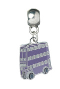 Harry Potter Pendant Knight Bus Slider Charm Silver Plated 1.8x1.5cm Jewellery