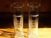 STRONGBOW GLASS X 2 STRONGBOW PINT GLASS X 2