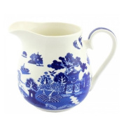 BLUE WILLOW JUG FINE CHINA DRINKS KITCHEN JUICE WATER TABLEWARE GIFT FRIDGE NEW