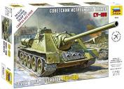 Zvezda 1/72 Soviet Tank Destroyer SU-100 # 5044 - Plastic Model Kit