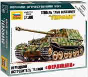 Zvezda 1/100 Sd.Kfz.184 Ferdinand # 6195 - Model Kit