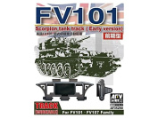 AFV Club AF35290 - Model Accessories Scorpion/Scimitar CVR Family Workable TR Track Early Type