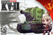 AFV Club WQT002 Model Kit KV II Q Series Kit
