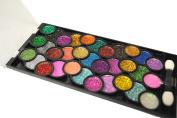 Dazzling 33 Glitter Eyeshadow Makeup Kit