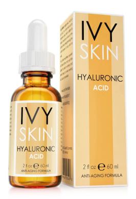 IVY SKIN - Hyaluronic Acid Serum 60ml    Anti-Ageing    Premium Quality - Extra Strong Formula