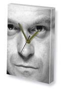 ROSS KEMP - Canvas Clock (A4 - Signed by the Artist) #js002