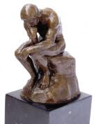 Modern Art Bronze Sculpture - The Thinker - signed Auguste Rodin