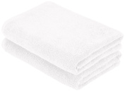 Crafts Linen Supreme 600 gsm Egyptian Cotton Bath Towel, White