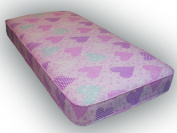 0.9m Standard Size Pink Economy Mattress, single mattress with fast delivery