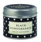 """The Country Candle Company Superstars Collection """"Black Pomegranate"""" Candle in Tin, Multi-Colour"""