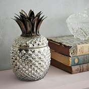 Beautiful Glass Pineapple Jar Ornament or Tea Light Holder