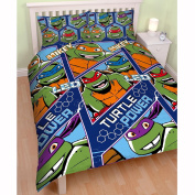 Teenage Mutant Ninja Turtles Dimension Double Duvet Cover Set