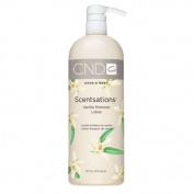 CND Creative Scentsations Hand & Body Lotion - Vanilla Shimmer - 920ml