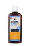 All Natural Coral Safe / Reef Safe / Biodegradable Sunscreen - SPF 30 - 240ml - Water Resistant and Coral Safe! Approved Snorkelling and Scuba Diving Sunscreen!