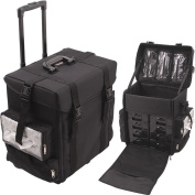 Sunrise C6024NLAB Black Trolley 1680D Nylon Case