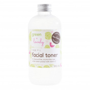 Rose + C Facial Toner. Rose water and Vitamin C packed. Alcohol Free. Plant based. Antioxidant Blend + Rejuvenating.