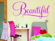 Design with Vinyl RAD 609 3 Beautiful Sign Kids Girl Teen Baby Vinyl Wall Decal, Pink, 50cm x 100cm